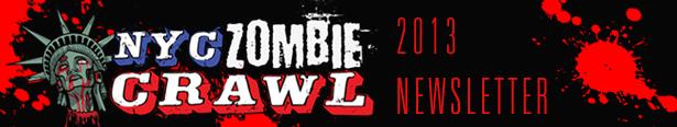 NYC Zombie Crawl Newsletter